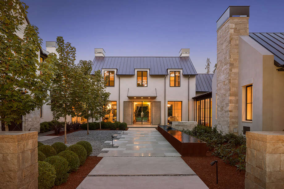 A 20,375-square-foot spec home at 119 Tuscaloosa in Atherton, Calif., sold for $35.3 million on Nov. 3, 2015. Photo: Scott DuBose And Bernard Andre
