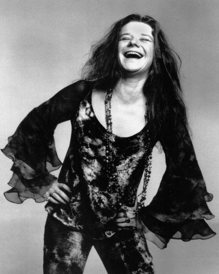 A Oct. 1970 photo of rock singer Janis Joplin.  (AP Photo).     HOUCHRON CAPTION (09/12/2001):  Joplin. / HO