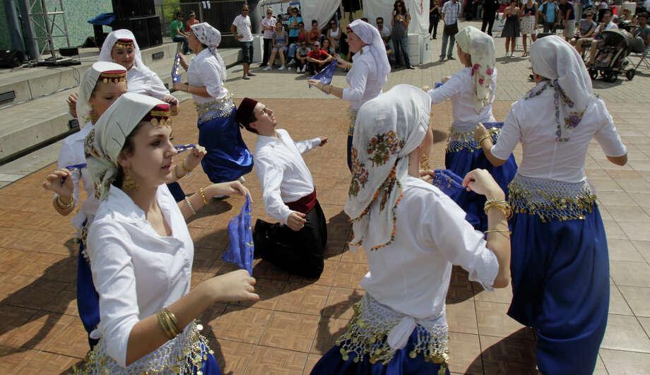 Dances will be part of the annual Houston Turkish Festival at Jones Plaza Photo: Julio Cortez, Staff / Houston Chronicle