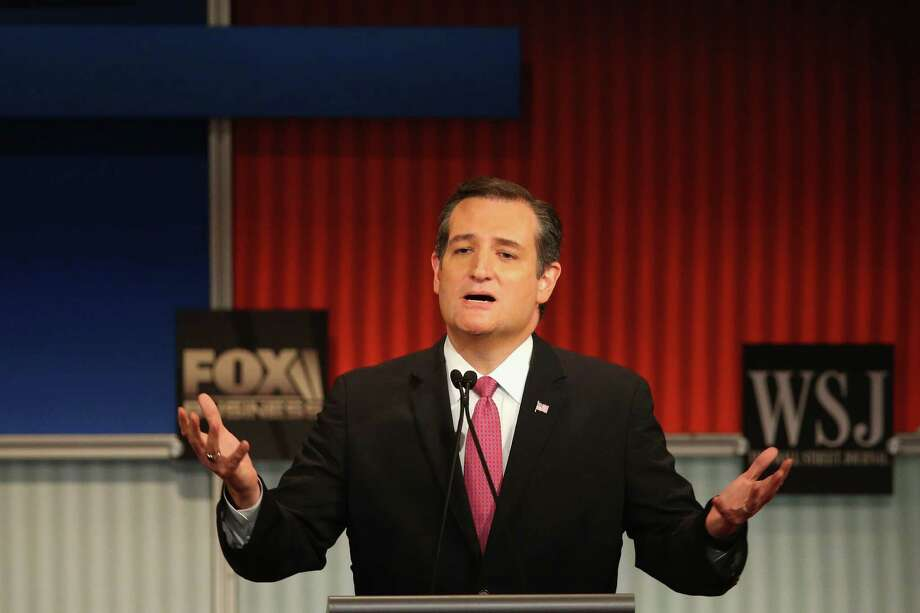 Presidential candidate Ted Cruz has suggested a war on Christians is under way. Photo: Scott Olson /Getty Images / 2015 Getty Images