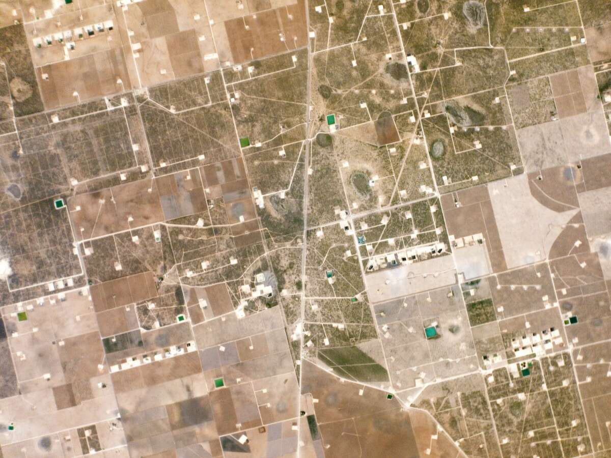 Planet Labs Earth images from space West Texas oil fields