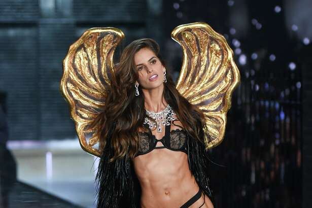 Model Izabel Goulart walks the runway during the 2015 Victoria's Secret Fashion Show at the Lexington Armory on Tuesday, Nov. 10, 2015, in New York. The Victoria's Secret Fashion Show will air on CBS on Tuesday, December 8th at 10pm EST. (Photo by Evan Agostini/Invision/AP)
