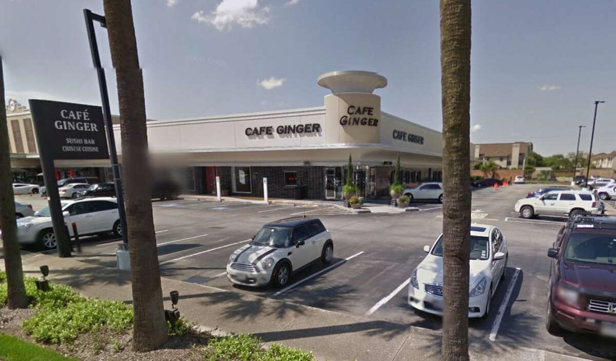 Cafe Ginger in the River Oaks Shopping Center is pictured.