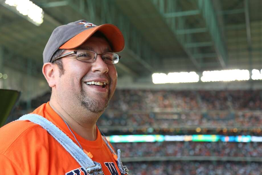 PHOTOS: Minute Maid Park's train is legendary  Bobby Vasquez, aka Bobby Dynamite, has the enviable job of conducting the train at Minute Maid Park. Every time the Astros get a home run, Vasquez moves the train down the track to the roar of the crowd.  See more photos of the train through the years... Photo: Houston Chronicle