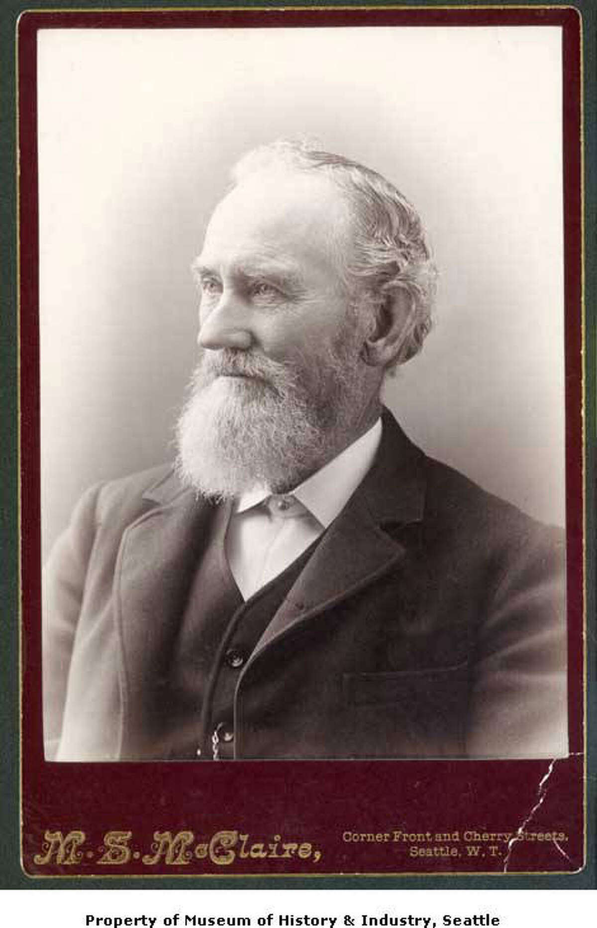Arthur Denny, along with nine other adults and 12 children, sailed from Portland aboard the schooner Exact after his brother, David Denny, had sent word back from the mouth of the Duwamish River urging them to come.