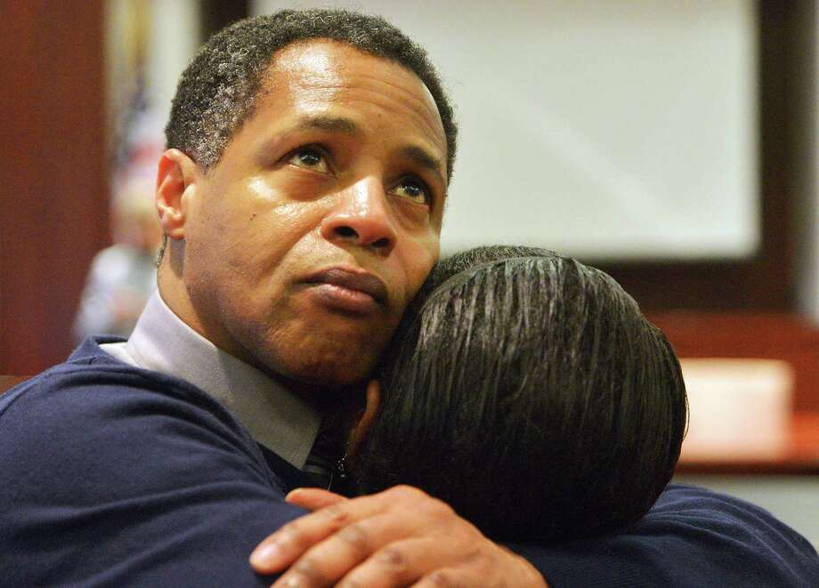 Timothy Johnson was exonerated of a 1984 killing in Warner Robins, Ga. Johnson revels in spending time with his parents, grateful they're still alive.  Photo: Grant Blankenship, MBR / The Macon Telegraph