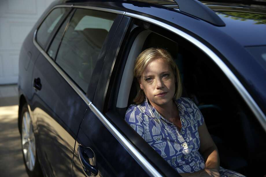 Zandy Hartig of Studio City has a 2013 Volkswagen Jetta Sportwagen diesel. Photo: Chris Carlson, Associated Press
