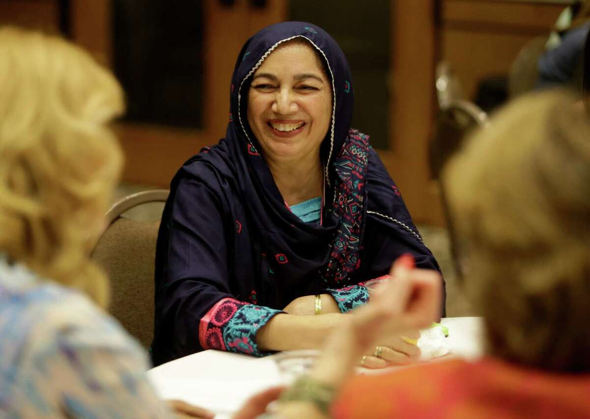 Shanaz Ghani said her son and his Jewish friends organize fellowship events for Muslims and Jews around Christmas. There's nothing else to do, she joked, so they get together and try each other's food.