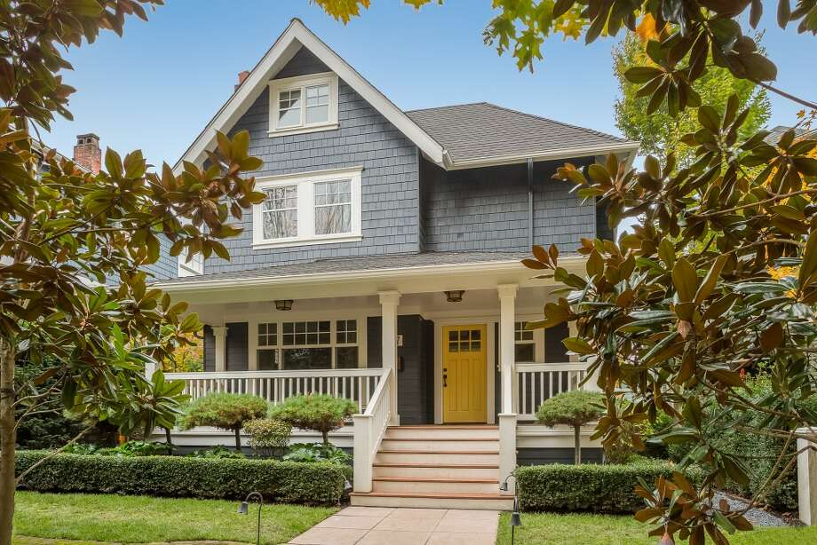 This home, 927 20th Ave. E., is listed for $1.8 million. The five bedroom, 4.25 bathroom home was built in 1909, and features the original oak floors, a kitchen with Viking appliances and a master suite with a five-piece master bath. 