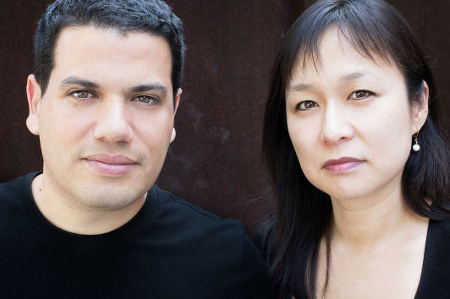 Tarik Oualalou and Linna Choi, principals of the architecture firm Oualalou + Choi, won the Rice Design Alliance's 2015 Spotlight Award, which recognizes the world's best up-and-coming architecture firms. Photo: Charlotte Valode, Oualalou + Choi