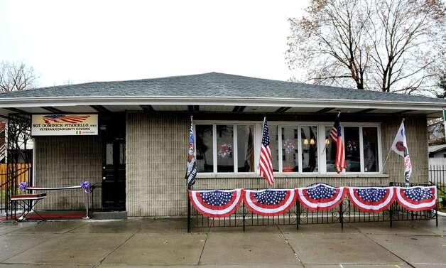 The Dominick Pitaniello Veteran and Community Housing on Wednesday, Nov. 11, 2015, in Troy, N.Y. The facility is named in honor of Pitaniello, who was killed in action as a young man during WWII. (Cindy Schultz / Times Union) Photo: Cindy Schultz / 00034105A