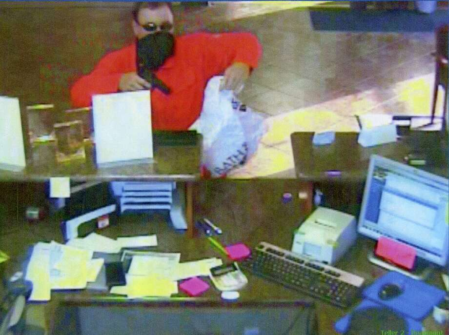 Beaumont Police released photo from Tuesday's attempted bank robbery in Beaumont's West End. Authorities are still searching for the suspect.