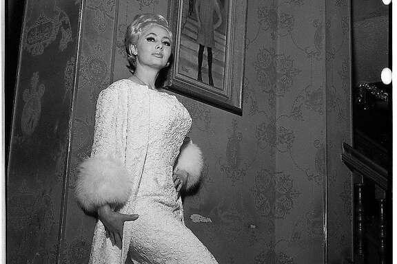Carol Doda inside the Condor Club  Photos shot 02/1/1966