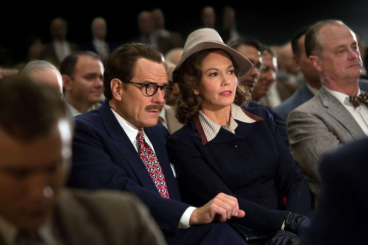This photo provided by Bleecker Street shows, Bryan Cranston as Dalton Trumbo, and Diane Lane as Cleo Trumbo, in Jay Roach's