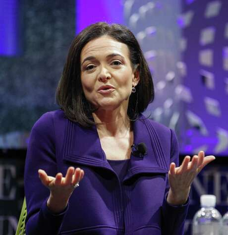 SAN FRANCISCO, CA - NOVEMBER 03:  Sheryl Sandberg on a panel at the Fortune Global Forum - Day2 at the Fairmont Hotel on November 3, 2015 in San Francisco, California.  (Photo by Kimberly White/Getty Images for Fortune) Photo: Kimberly White, Stringer / 2015 Getty Images