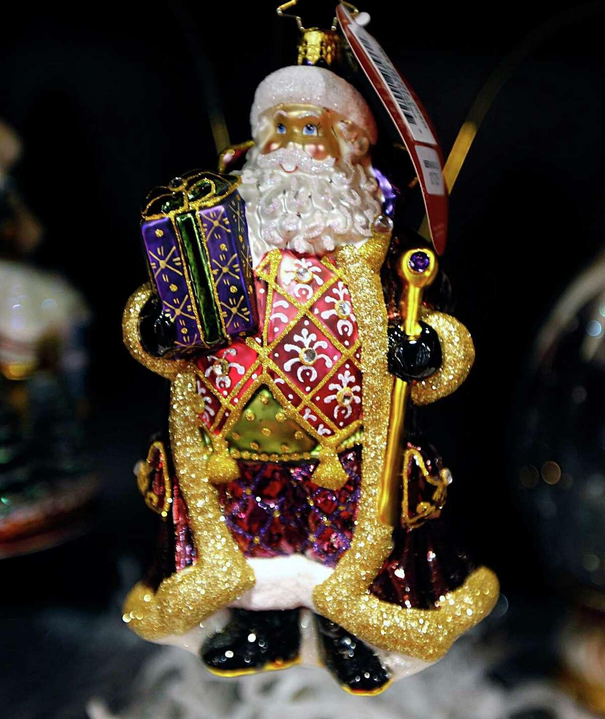 A Christmas ornament for sale at The Nutcracker Market's Ornament Barre Monday, Nov. 9, 2015, in Houston. ( James Nielsen / Houston Chronicle )