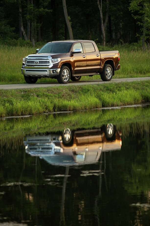 "The third-generation 2016 Toyota Tundra has two new special edition trims: The luxury-level Platinum and the premium Texas-ranch-themed ""1794"", named after the cattle ranch near San Antonio, where Toyota builds the Tundra. Photo: Toyota / Dewhurst Photography 2012"