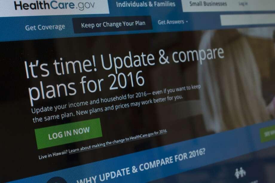Screenshot of the healthcare.org website.