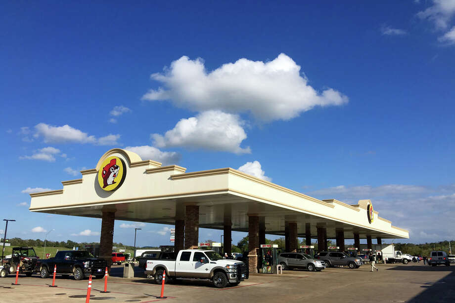 """At Buc-ee's, writes Lawrence Wright in his hew book, """"an aspiring Texan can get fully outfitted not only with the clothing but also with the cultural and philosophical stances that embody the Texas stereotypes."""" Photo: Brett Mickelson"""