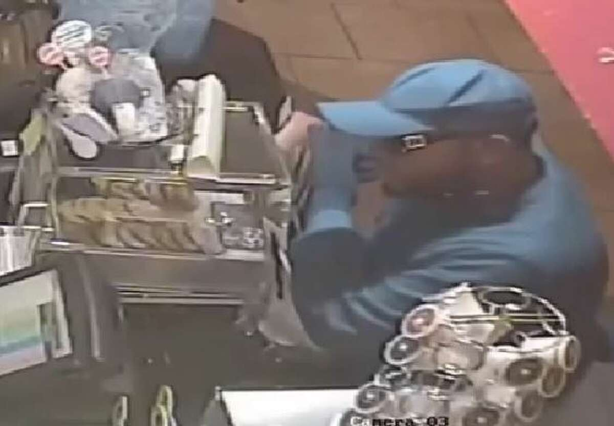 Houston police are asking for the public's help in identifying a suspect wanted in up to 30 fast-food restaurant robberies in Harris and Fort Bend counties. He's about 6-2 and weighs about 250 to 275 pounds.