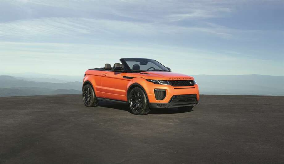 The all new 2016 Land Rover Evoque Convertible, the world's first luxury compact SUV convertible. Photo: Jaguar Land Rover