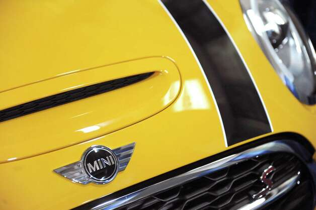 Detail of a 2016 Mini Cooper S hard top at the Albany Auto Show on Thursday Nov.12, 2015 in Albany, N.Y. The show at the Times Union Center runs Nov. 13-15.  (Michael P. Farrell/Times Union) Photo: Michael P. Farrell / 00034049A