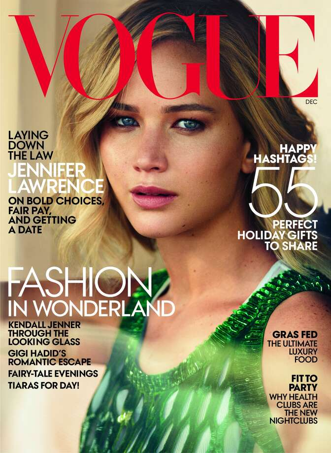 Jennifer Lawrence covers Vogue's December issue.