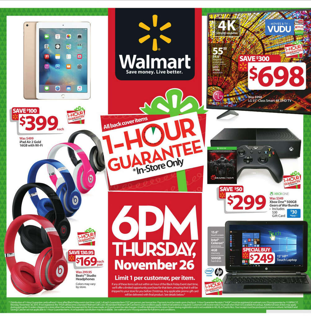 walmart black friday s circular released here s all pages walmart black friday 2015 newspaper circular click expand button below for larger image
