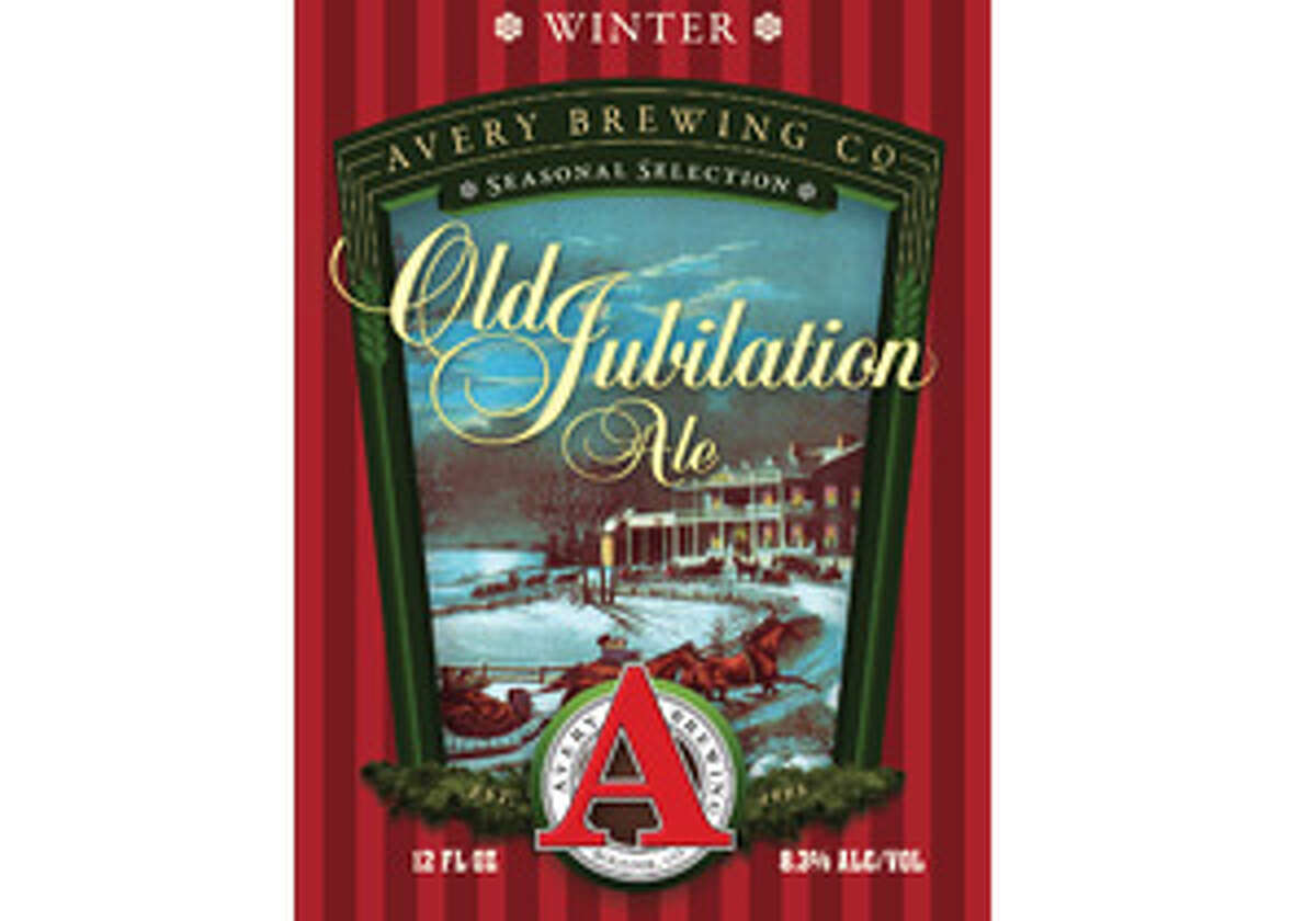 Avery Brewing's Old Jubilation Ale arrives from Colorado.