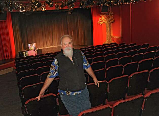 Ric Chesser, the founder and executive director of Steamer 10, stands inside of the Steamer 10 Theatre on Thursday, Nov. 12, 2015 in Albany, N.Y.  (Lori Van Buren / Times Union) Photo: Lori Van Buren, Albany Times Union / 00034193A