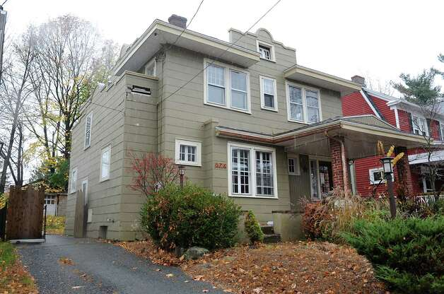 House at 876 Mercer St. on Wednesday, Nov. 11, 2015 in Albany, N.Y.  (Lori Van Buren / Times Union) Photo: Lori Van Buren / 00034126A
