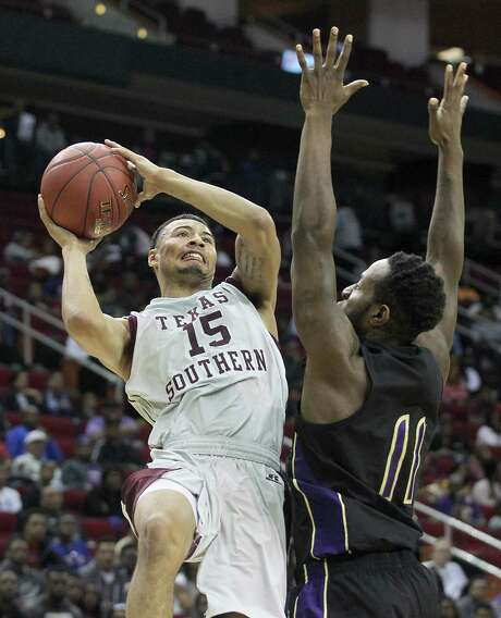 David Blanks (15) is one of the players Texas Southern will count on this season as the Tigers try to make the NCAA Tournament for the third consecutive season. Photo: Thomas B. Shea, Freelance / © 2015 Thomas B. Shea