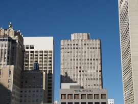 The 26-story tower at 450 Sutter St., designed by Timothy Pflueger, is one of San Francisco's most beloved high-rise buildings. It opened in 1929.