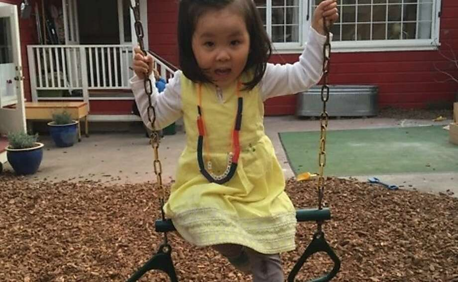 """Grace, 3, before the accident: """"Grace just started rehab, and the team treating her is optimistic,"""" says father Soren Kim. Photo: Courtesy, Soren Kim"""