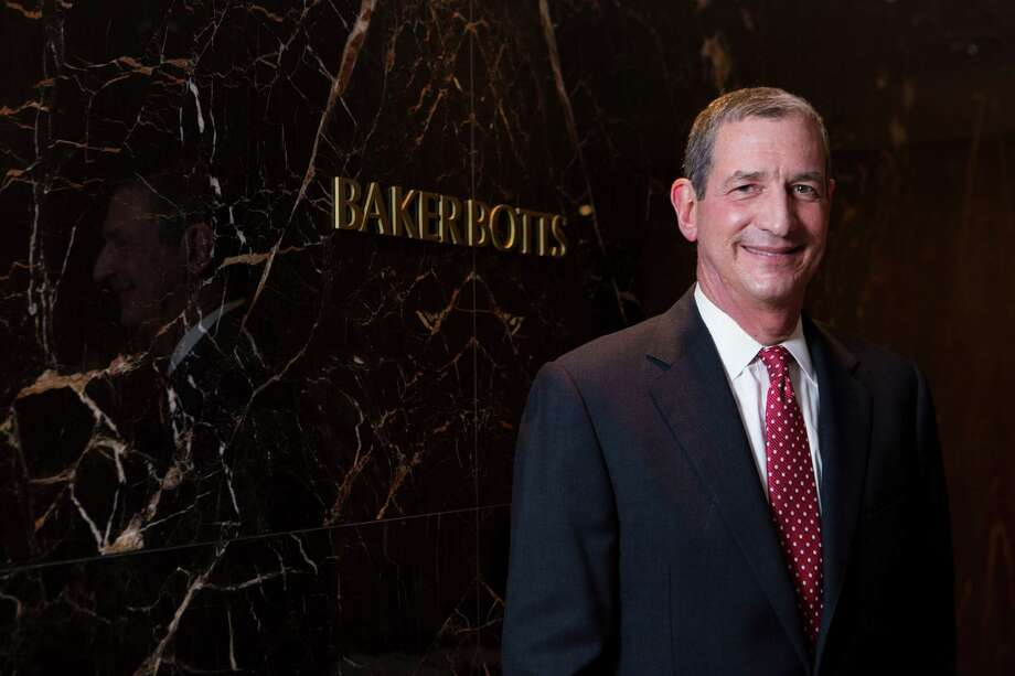 Andrew Baker is the managing partner of Baker Botts. He is not related to a founder of the firm.  Photo: Marie D. De Jesus, Staff / © 2015 Houston Chronicle