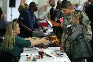 Military talent in high demand at Alamodome job fair - Photo
