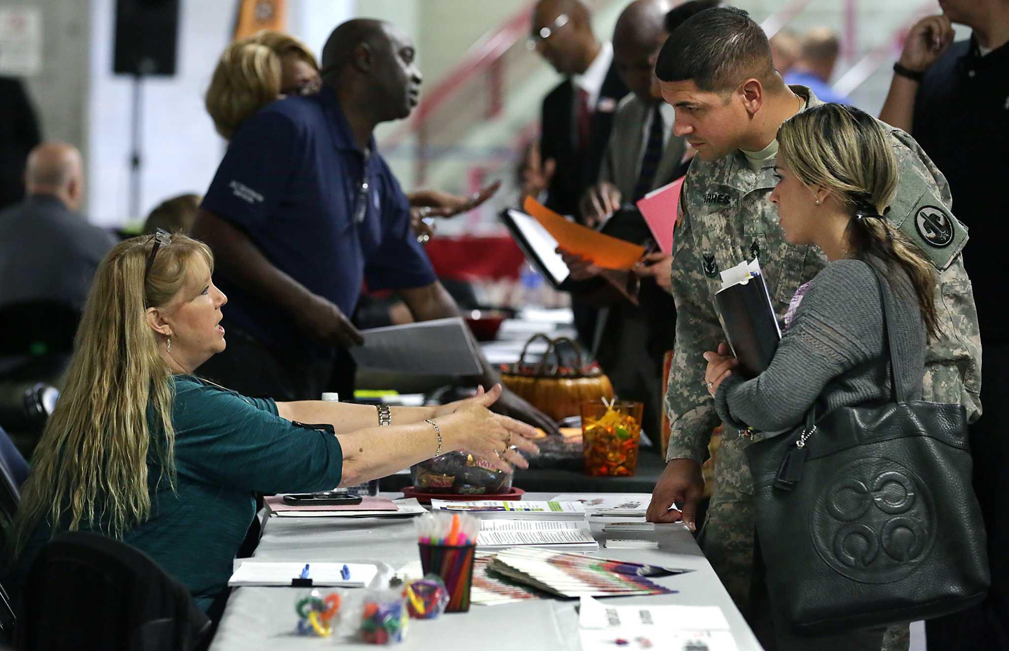 Military Talent In High Demand At Alamodome Job Fair San