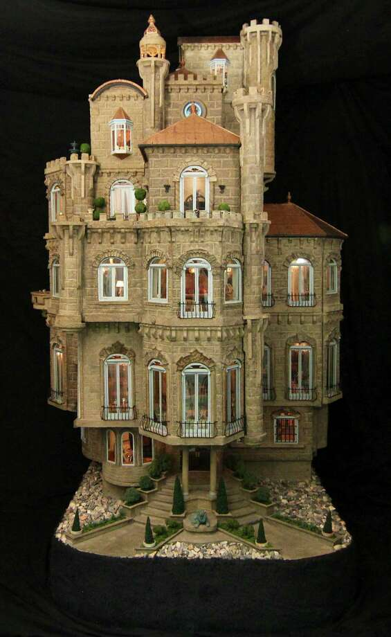 This dollhouse is worth $8.5 million, and has numerous intricate furnishings inside and out. Photo: Courtesy Photo