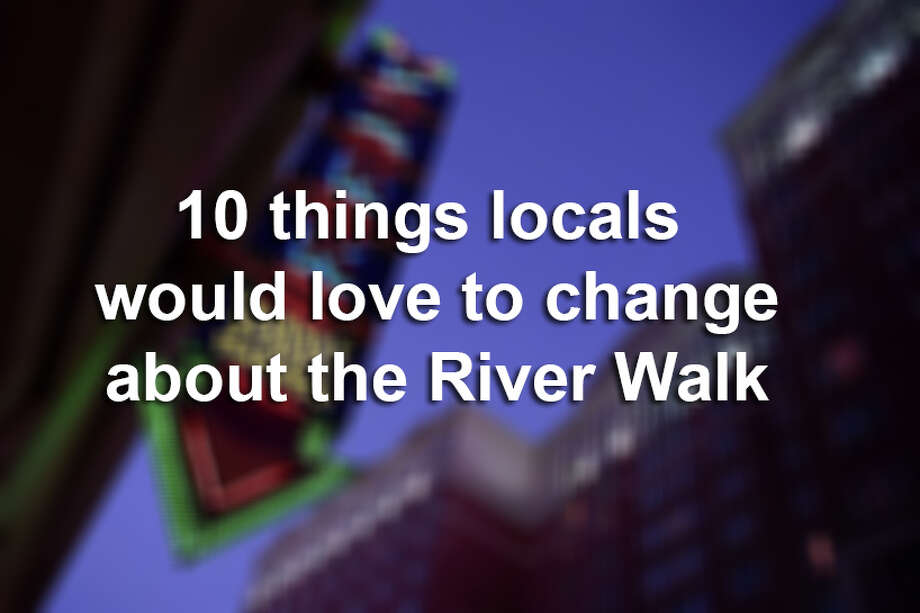 From expensive meals to stinky water, click through the slideshow to view 10 reasons why San Antonians loathe the River Walk. Photo: MIKE GREENBERG, File / SAN ANTONIO EXPRESS-NEWS