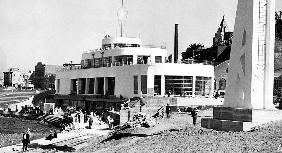 A renovated Aquatic park building. Photo: Photographer Unknown, The Chronicle