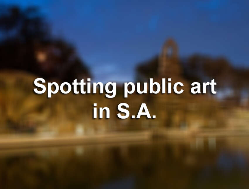 San Antonio has dozens of public artworks throughout the city, and you probably pass a few everyday. Here's a sample of some of the sculptures, mosaics and installations on view and the artists behind them.