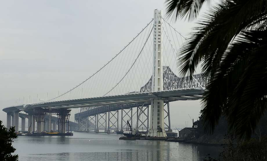The eastern span of the San Francisco Oakland Bay Bridge on Tuesday, Jan. 7, 2014, in San Francisco.  Photo: Ben Margot, Associated Press