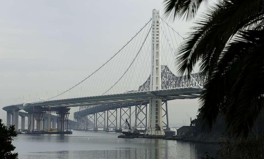 The eastern span of the San Francisco Oakland Bay Bridge on Tuesday, Jan. 7, 2014, in San Francisco. Photo: Ben Margot, Associated Press