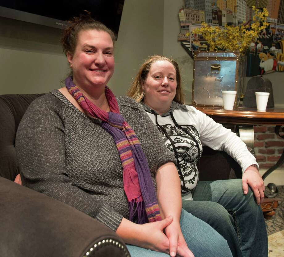 A Utah judge has ordered that a baby be taken away from April Hoagland and Beckie Peirce, her lesbian foster parents, and placed with a heterosexual couple. Photo: Steve Griffin, MBI / The Salt Lake Tribune