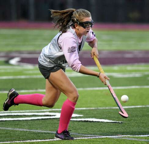 Shenendehowa's Emily Fraser scrimmages with Burnt Hills on Thursday, Nov. 12, 2015, at Burnt Hills High in Burnt Hills, N.Y. (Cindy Schultz / Times Union) Photo: Cindy Schultz / 10034219A