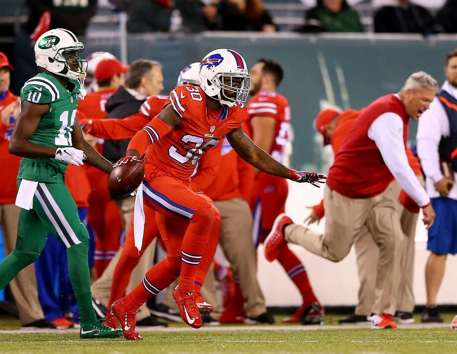 best authentic 532ff 1eccf NFL's 'Color Rush' Experiment for Bills-Jets Game Ripped by ...