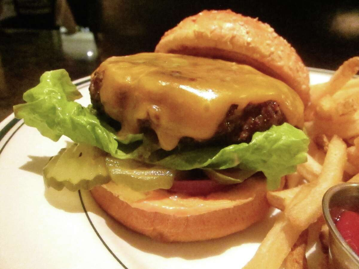 The Chop House Burger at the Daily Grill in the Galleria.