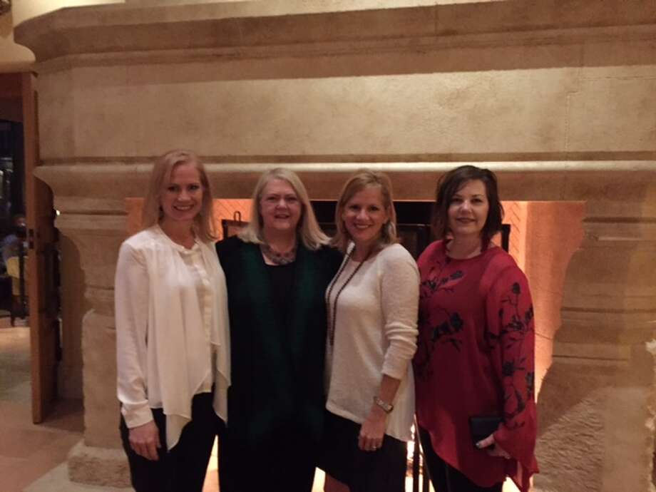 Martha Turner Sotheby's International Realty sales managers Marilyn Thompson, Robin Conner, Robin Suter and Seita Jongebloed attended the Sotheby's International Realty Leadership Forum.