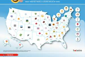 Connecticut's favorite emoji is... - Photo