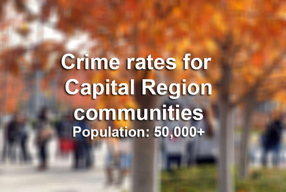 Click through the slideshow to find out which Capital Region communities have the highest crime rates based on population size.
